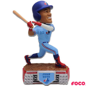 Stadium Lights Series Juan Soto Throwback Expos Bobblehead