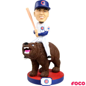Player Riding Series Javier Baez Bobblehead