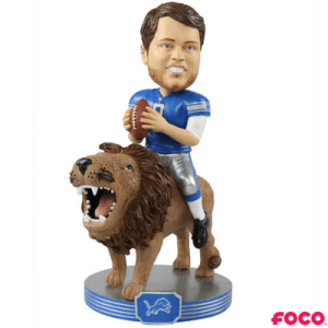 Player Riding Series Matt Stafford Bobblehead