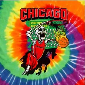 Chicago Tie-Dye Basketball T-Shirt by BreakingT