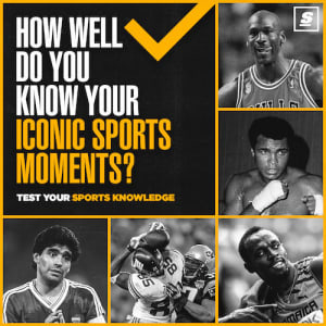 Download theScore App to play our Iconic Sports Moments Quiz