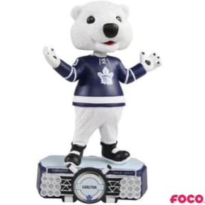Toronto Maple Leafs Carlton Bear Bobblehead