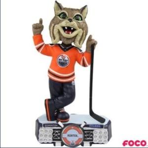 Edmonton Oilers Hunter Bobblehead