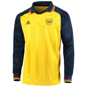 Arsenal adidas Icons Long Sleeve T-Shirt - Yellow