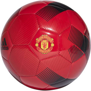 Manchester United adidas 2018/19 Club Soccer Ball - Red/Black