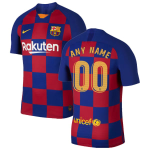 Barcelona Nike 2019/20 Home Authentic Vapor Match Custom Jersey - Royal