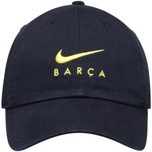 Barcelona Nike Heritage 86 Adjustable Hat - Navy
