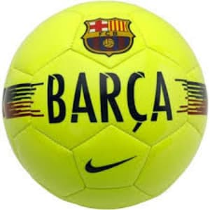 Barcelona Nike Supporters Soccer Ball - Yellow