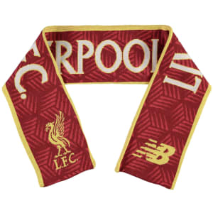 Liverpool New Balance Elite Knitted Scarf - Red