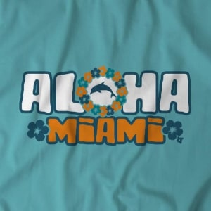 Aloha Miami T-Shirt by BreakingT
