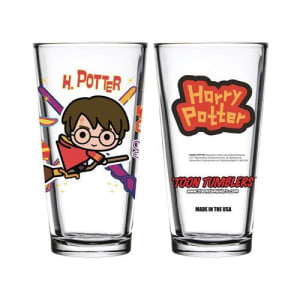 Harry Potter with Broom Charm Toon Tumbler