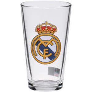 Real Madrid 16 oz. Satin Etch Pint Glass