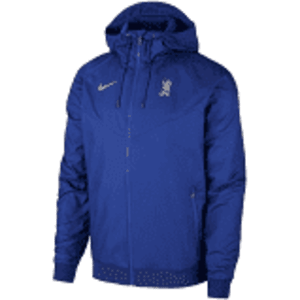 Chelsea Nike Full-Zip NSW Windrunner Hoodie - Blue