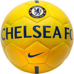 Chelsea Nike Supporters Soccer Ball - Yellow