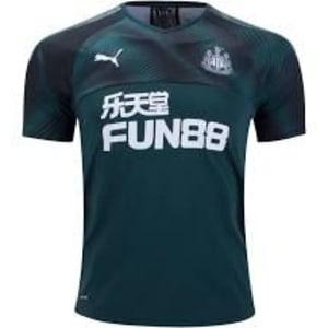 Newcastle United Puma 2019/20 Away Replica Jersey - Green/Black