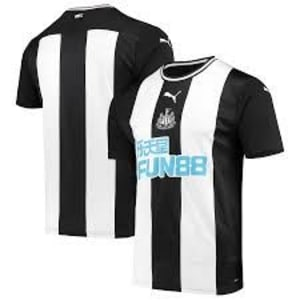 Newcastle United Puma 2019/20 Home Replica Jersey - White/Black