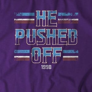 He Pushed Off T-Shirt by BreakingT