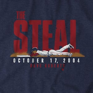 Dave Roberts: The Steal T-Shirt by BreakingT