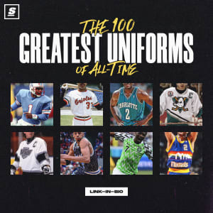 Get theScore app to see our rank of the Ten Best Uniforms in Sports History