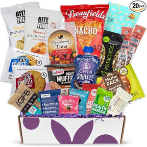 High Protein Fitness Healthy Snack Box