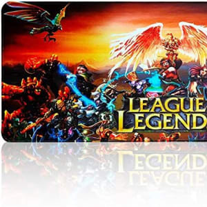 Extended Gaming Mouse Pad Large for League of Legends All Heros