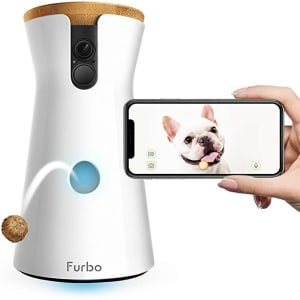 Furbo Dog Camera: Treat Tossing, Full HD Wifi Pet Camera and 2-Way Audio