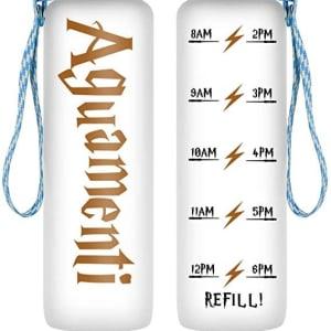 LEADO 32oz 1Liter Motivational Water Bottle w/Time Marker