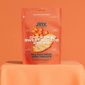Chicken and Sweet Potato Dog Jerky Bites