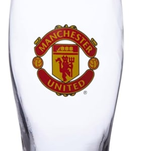 Manchester United FC Pint Glass