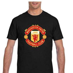 Manchester United T-Shirt Men's 3D Printed Loose Shirts Short Sleeve Football Team T-Shirt