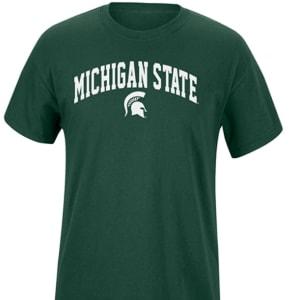 Elite Fan Shop NCAA Mens Short Sleeve T-Shirt Arch