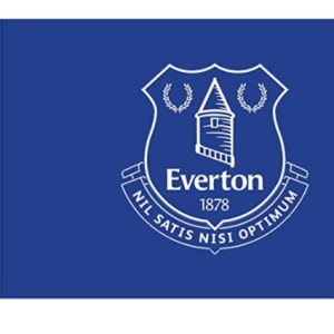 Everton FC Authentic EPL Crest Flag