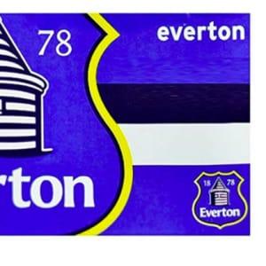 Home Win Everton FC Flag HZ