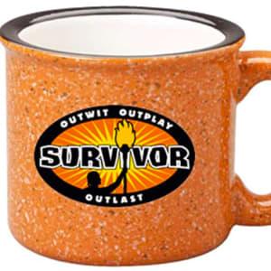 Survivor Outwit, Outplay, Outlast Campfire Mug, Ceramic, 15 oz.