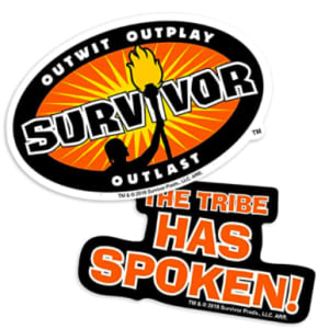 Popfunk Survivor The Tribe Has Spoken Collectible Stickers