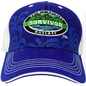 CBS Survivor Outwit, Outplay, Outlast Baseball Cap - Official Hat of Jeff Probst