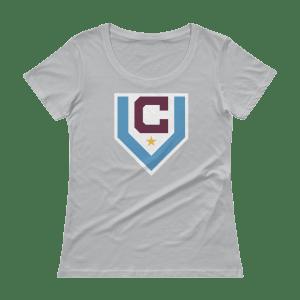 Women's Claret Villa Scoopneck T-Shirt