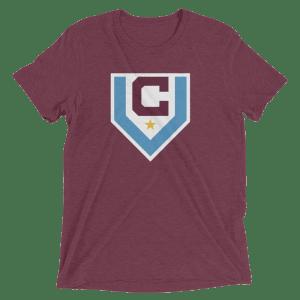 Men's Claret Villa Short-Sleeve T-Shirt