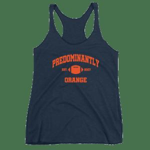 Women's Predominantly Orange Racerback Tank