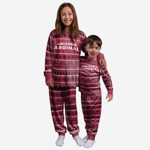 Arizona Cardinals Youth Family Holiday Pajamas