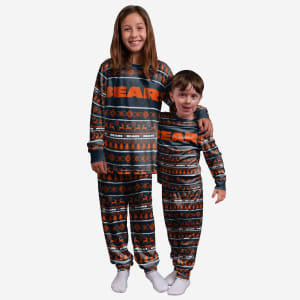 Chicago Bears Youth Family Holiday Pajamas - 10/12 (M)