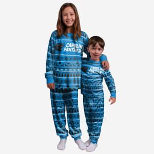 Carolina Panthers Youth Family Holiday Pajamas - 18/20 (XL)