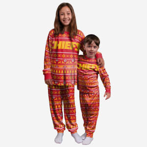 Kansas City Chiefs Youth Family Holiday Pajamas - 18/20 (XL)