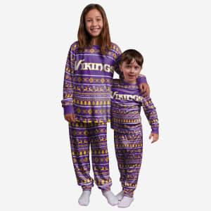 Minnesota Vikings Youth Family Holiday Pajamas - 5/6