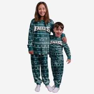 Philadelphia Eagles Youth Family Holiday Pajamas - 14/16 (L)
