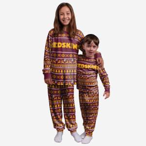 Washington Redskins Youth Family Holiday Pajamas - 8 (S)
