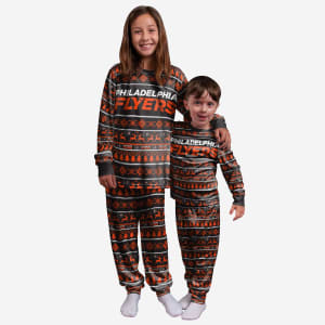 Philadelphia Flyers Youth Family Holiday Pajamas - 4