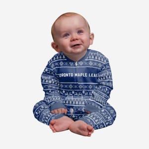 Toronto Maple Leafs Infant Family Holiday Pajamas - 12 mo