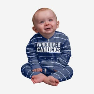 Vancouver Canucks Infant Family Holiday Pajamas - 12 mo