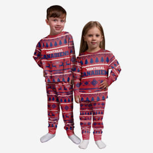Montreal Canadiens Toddler Family Holiday Pajamas - 3T
